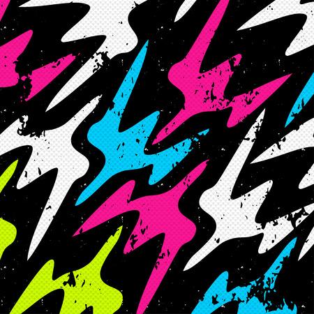 graffiti background: Graffiti Abstract beautiful colorful background grunge texture vector illustration