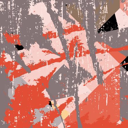 Colorato macchie graffiti su sfondo nero grunge texture Archivio Fotografico - 52918471