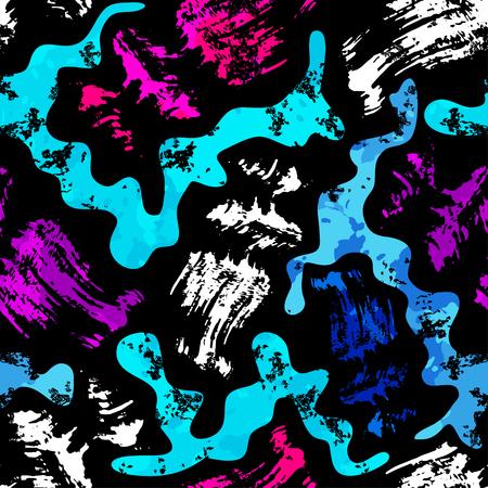graffiti background: Graffiti Background seamless pattern