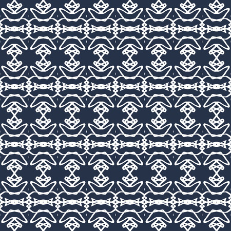 flawless: beautiful monochrome vintage seamless pattern