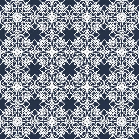 flawless: vintage seamless pattern vector illustration Illustration