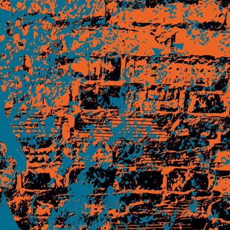 brick and mortar: colored brick wall grunge texture