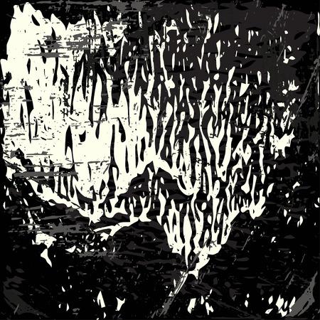 graffiti background: monochrome abstract colored graffiti background Illustration
