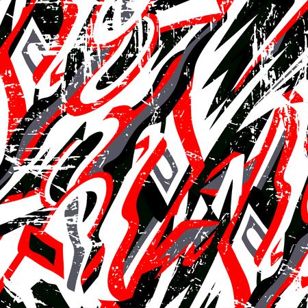 schöne Graffiti Grunge Textur abstrakten Hintergrund Vektor-Illustration