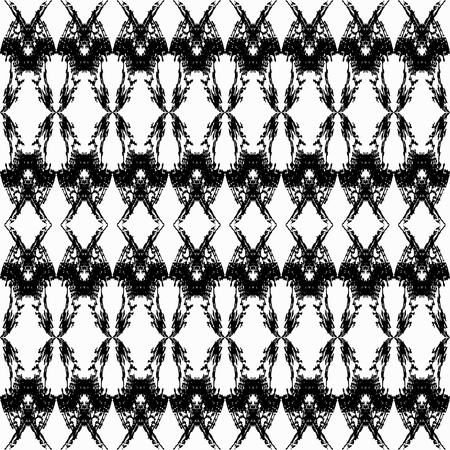 flawless: thin white lines vintage seamless pattern vector illustration