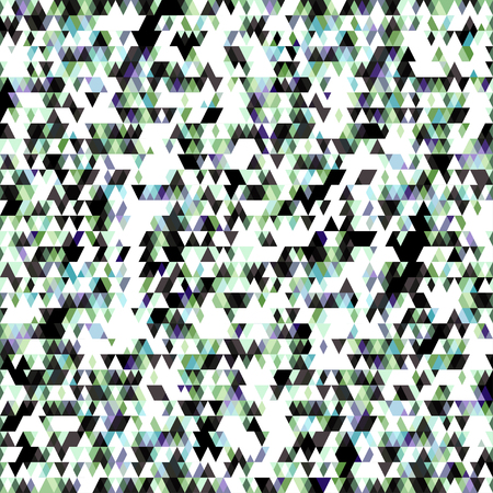 small colored triangles geometric background