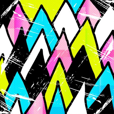 urban grunge: beautiful graffiti grunge texture abstract background vector illustration