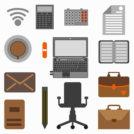 objects: Collection of office objects