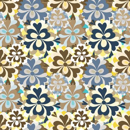 petites fleurs: d�licates petites fleurs seamless pattern