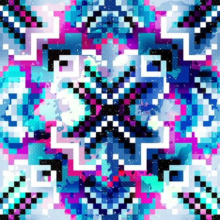 pixel seamless pattern grunge texture