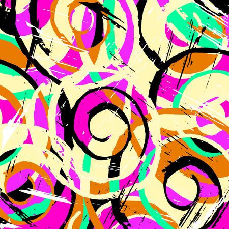 graffiti background: abstract antique graffiti background