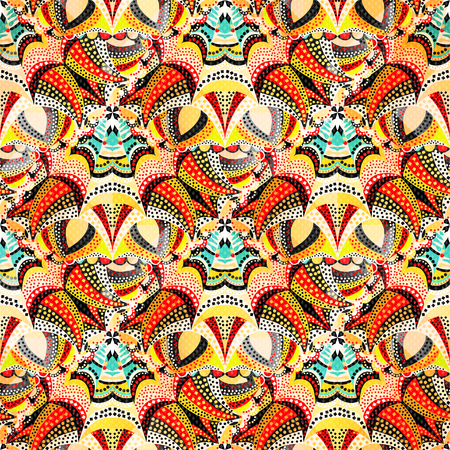 bright: bright abstract seamless pattern