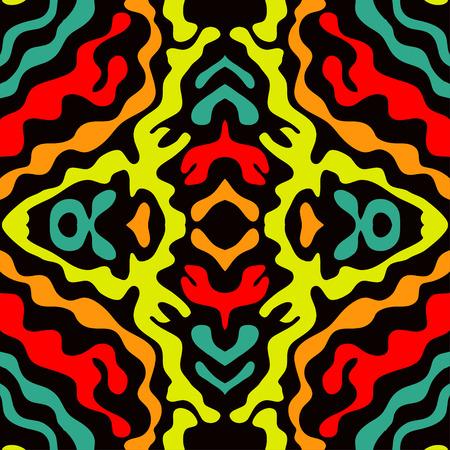 colored graffiti seamless texture vector illustration