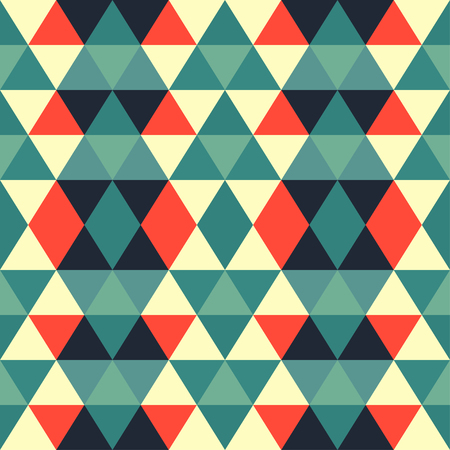 Abstract geometric seamless pattern Illustration