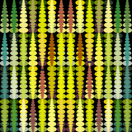 A colorful geometric abstract pattern. Illustration