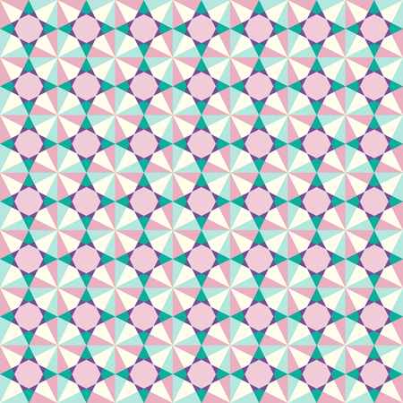 repeated: geometric abstract color seamless pattern