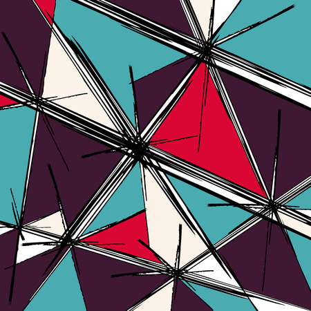 psychedelic abstract graffiti background Illustration