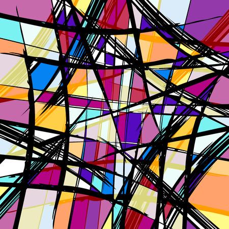 psychedelische abstracte graffitiachtergrond