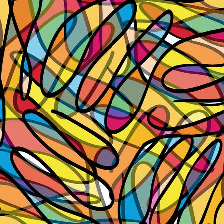 Graffiti beautiful abstract background Ilustração