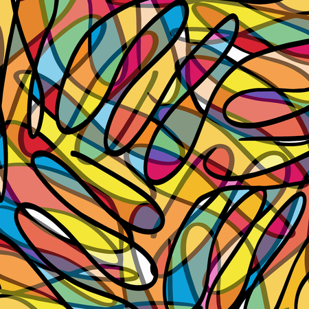 Graffiti beautiful abstract background Vettoriali