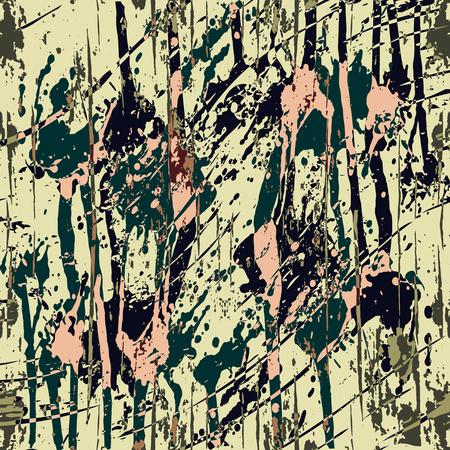 Beautiful abstract dark graffiti pattern vector illustration. Illustration