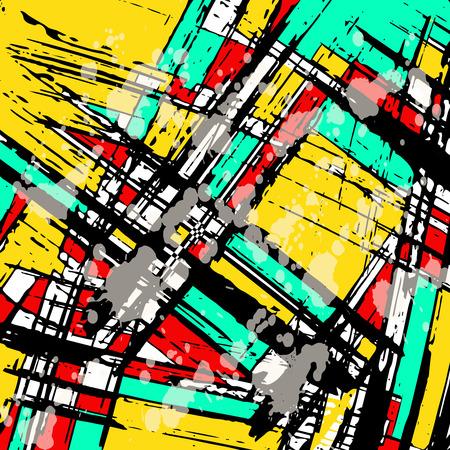 beautiful abstract pattern psychedelic graffiti