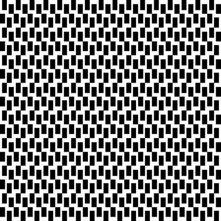 白い背景にシームレスなモノクロ抽象パターン。デザイン用の高品質のベクターイラストレーション。  イラスト・ベクター素材