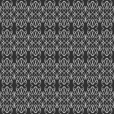 Vintage abstract seamless pattern for your design vector illustration Illustration