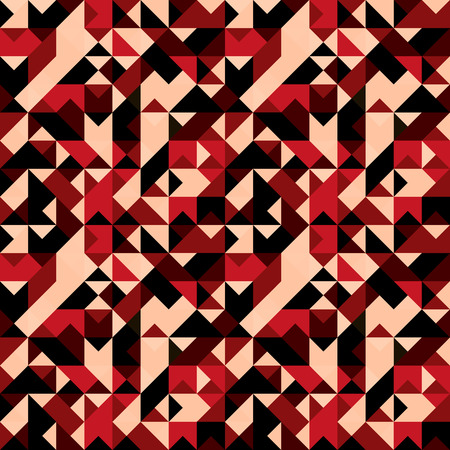 polygons psychedelic colored geometric background pixels Illustration