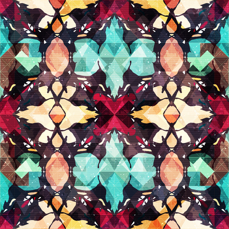 abstract seamless color pattern in graffiti style. Quality illustration for your design