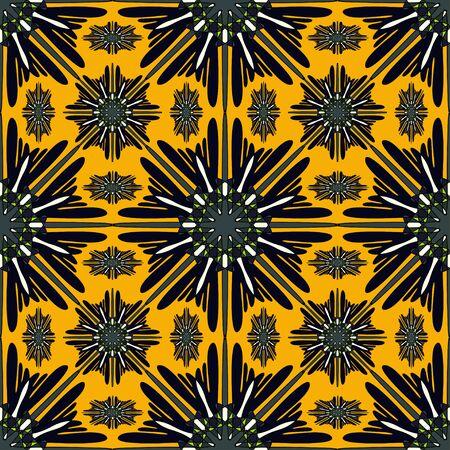 Mandalas. Seamless pattern. Vintage decorative elements illustration Archivio Fotografico - 137128560