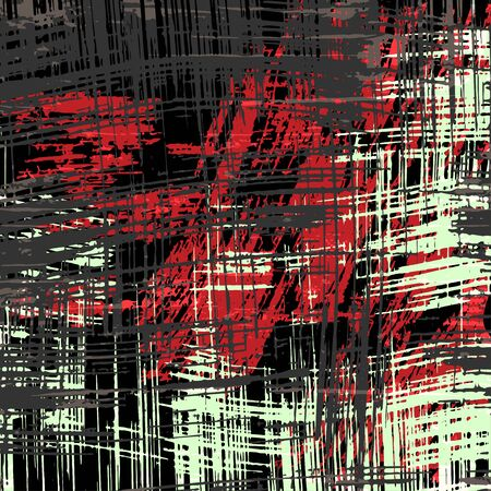 white black red line Graffiti abstract background Archivio Fotografico - 137128142