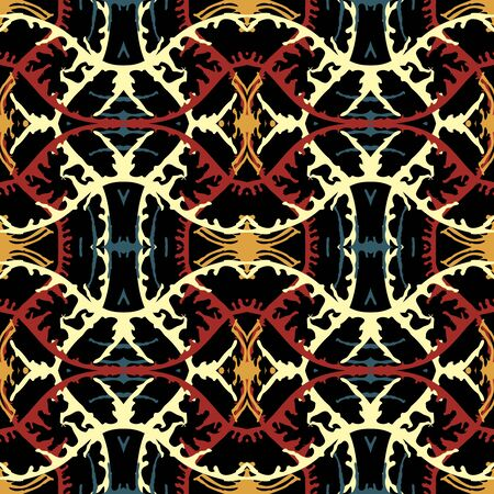 Abstract bright seamless color pattern for your design Archivio Fotografico - 137127637