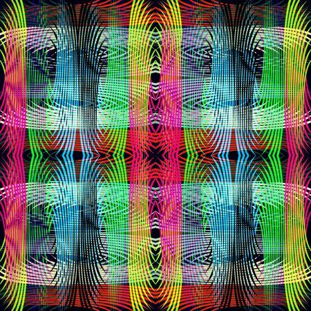 líneas finas de color patrón geométrico abstracto