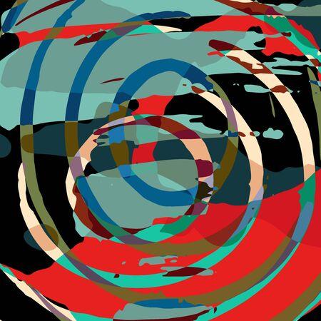 Abstract bright color pattern in graffiti style for your design. Archivio Fotografico - 137128000