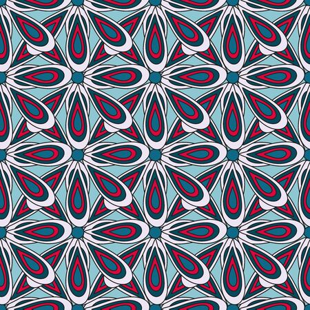 bright colored seamless abstract pattern for your design quality illustration Archivio Fotografico - 137128044