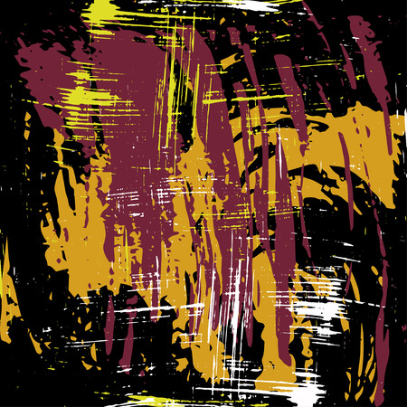 graffiti on a dark background illustration Banco de Imagens - 122346465
