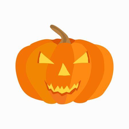 Halloween-Symbol. Flache isolierte Illustration für Ihr Webdesign.