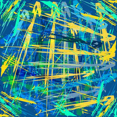 abstract color pattern in graffiti style Quality vector illustration for your design 矢量图像