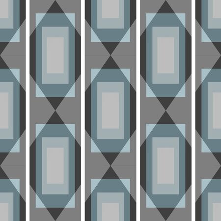 Graffiti on a geometric background seamless pattern Vettoriali