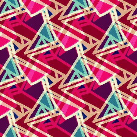 bright abstract background graffiti seamless pattern