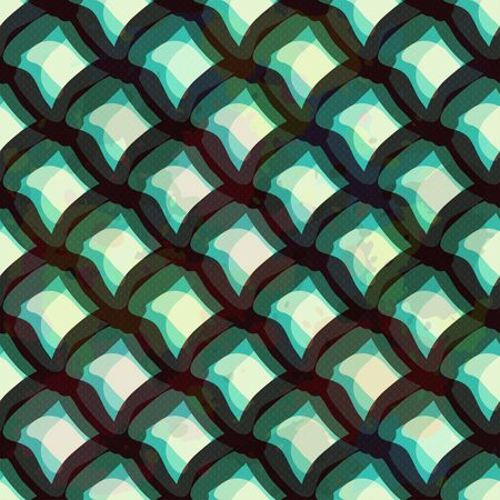 graffiti colored polygons seamless pattern Banco de Imagens