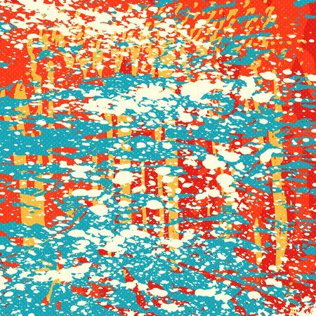 Beautiful abstract graffiti gentle pattern
