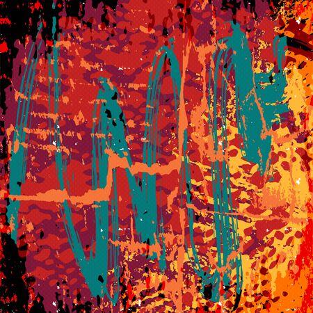 beautiful abstract colored graffiti background Banco de Imagens