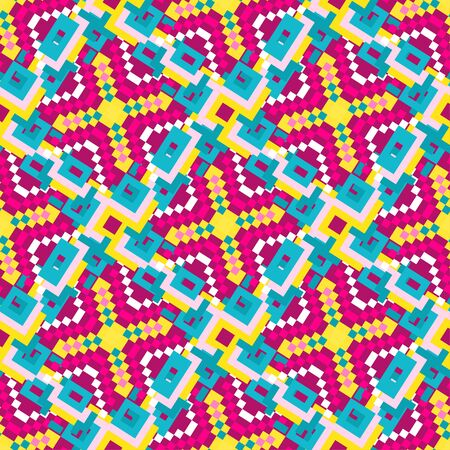 pixels psychedelic grunge texture geometric background