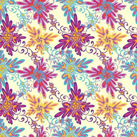 abstract geometric seamless pattern grunge texture Illustration