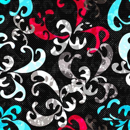 Graffiti background seamless texture Фото со стока