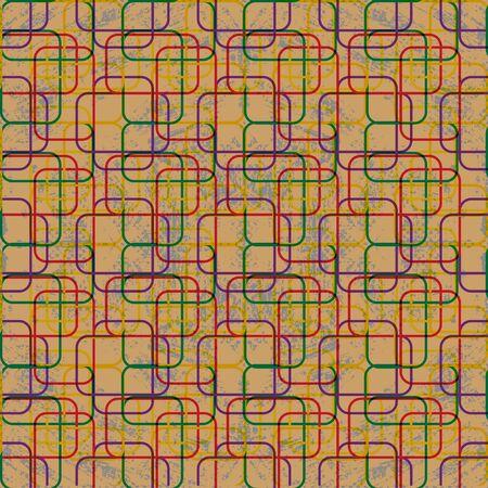 geometric abstract pattern grunge texture Stock fotó