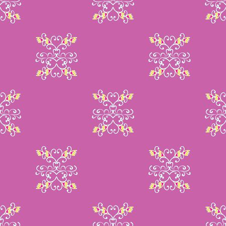 decorative vintage elements seamless vector pattern for your design