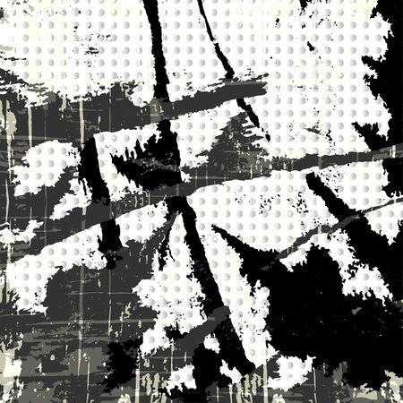 Graffiti on a black background illustration Banque d'images - 131352650